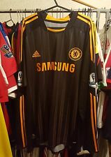 Chelsea Football Shirt 2010/11 Away XL Long Sleeve ~ Drogba 11