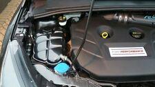 FORD FOCUS headertank copertura e CALOTTA IN FIBRA DI CARBONIO effetto IN PLASTICA ABS Mk3 RS ST