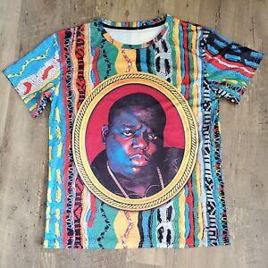 Nototious B.IG. XXL T-shirt Biggie Smalls Colorful BIG Graphc Colorful Hip Hop