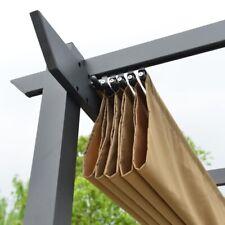 ALEKO Fabric Replacement Pergola Canopy - 9 x 9 Feet - Sand