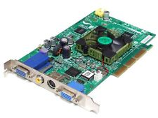 Medion nVidia GeForce4 MX460 MS-8863 64MB Dual VGA AGP 4x Video Card Grafikkarte