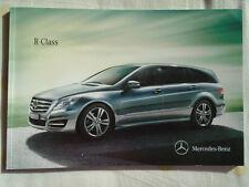 Mercedes R Class brochure Dec 2010
