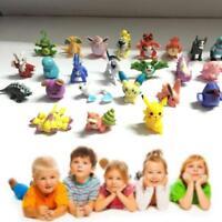 48pcs HOT New Cute Lots 2-4cm Pokemon Pocket Mini Random Pearl Figures Toys BG
