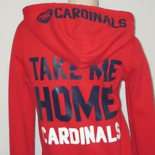 Victoria Secret St Louis Cardinals Womens Medium PINK MLB Baseball Hoodie Jacket