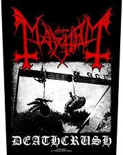 Mayhem - Deathcrush Backpatch Rückenaufnäher