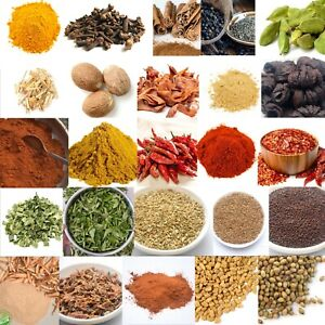 Ceylon Spices - 23 types of Premium quality spices from one Store FREE SHIPPING