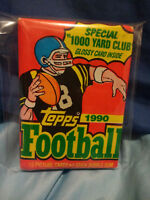 1990 Topps NFL Football Wax Pack 15 Picure Cards 1 Stick Bubble Gum Gem!Montana?