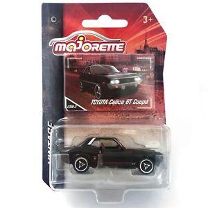 Toyota Celica 1600 GT Coupe A20 A30 Black 230B Majorette Vintage 2020 Toy Car