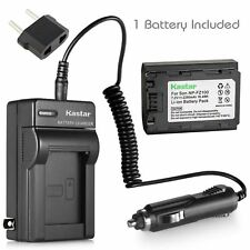 NP-FZ100 Battery & Charger for Sony Alpha A9, 9R, a9S, A7R III, A7R3, ILCE-7RM3