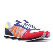 Armani Exchange Mesh Runner Mens Trainers Casual Footwear Sneakers Navy