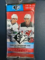 2019-20 Upper Deck SP Hockey Factory Sealed Cello / Fat Pack (15 Cards)