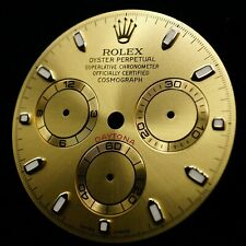 NEW Rolex DIAL Cosmograph Daytona CHAMPAGNE Gold Accents 116508 116503 116518