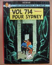 tintin EO 1968  vol 714 pour sydney