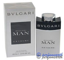 BVLGARI MAN EXTREME 3.3 / 3.4 OZ EDT SPRAY FOR MEN NEW IN A BOX BY BVLGARI