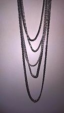 NWT Aldo Long Chain Multistrand Layered Necklace