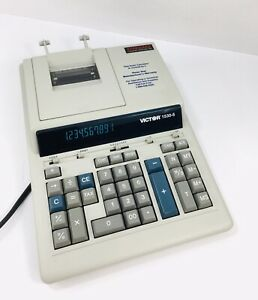 Victor 1530-5 adding machine electronic calculator Accounting Tax Office