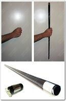 APPEARING BLACK CANE CLASSIC STAGE TRICK MAGIC PROP NEW OR USE WITH FANCY DRESS