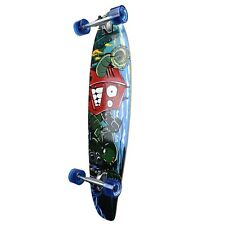 Yocaher Complete Robot Kicktail Longboard