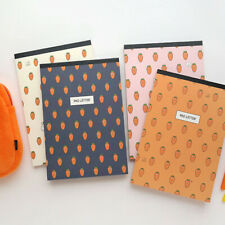 63sheets Carrot - Writing Stationery Paper Letter Pad Lined Korea Stationary