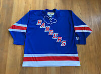 New York Rangers Vintage 90's KOHO AIR-KNIT Jerseys Mens XXL EUC NHL