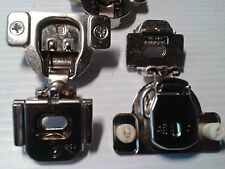 """(2) Ferrari 1-3/8"""" overlay cabinet hinges for face-frame mounting,SOLD IN PAIRS!"""