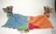 *NEW soft plush toy ~ ELEPHANT DOUDOU COMFORTER BLANKET