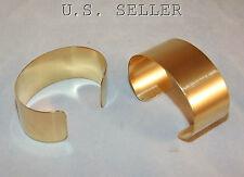 Brass Bracelet Cuff Blanks For Jewelry Making 1 inch Pkg Of 2
