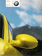 BMW M-Series 2002-03 UK Market Sales Brochure M3 Coupe Convertible & M5