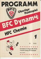 OL 88/89 BFC Dynamo Berlin - HFC Chemie