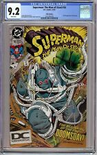 Superman: The Man of Steel # 18 CGC 9.2 WP 1st Full app. of Doomsday, HTF Fifth