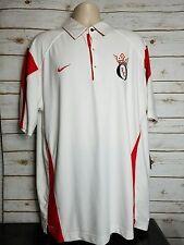 NEW Nike Oklahom FC Soccer Logo Polo Dri Fit Authentic Mens Size XL W/ $60 Tags