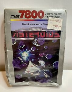 ASTEROIDS for ATARI 7800 BRAND NEW FACTORY SEALED VIDEO GAME