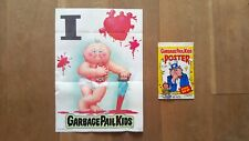 Garbage Pail Kids Poster #12 'I Heart' 'I Love' - Topps 1986 1st Series 1 - New!