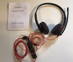Plantronics Blackwire 3200 USB Headset NEW