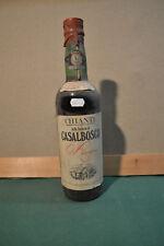 Vino Chianti Casalbosco 1970 RISERVA Bottiglia numerata da Collezione rif.224