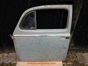 CLASSIC VW BEETLE pre-1960 SMALL WINDOW Near Side N/S PASSENGER DOOR,KT6 COLLECT