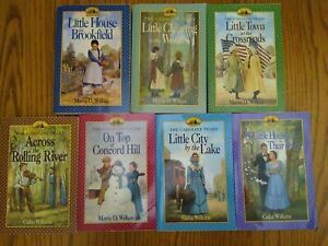 The Caroline Years lot COMPLETE SET - Little House prequel books -Wilkes Wilkins