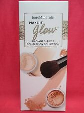 BAREMINERALS MAKE IT GLOW RADIANT 3 PIECE COMPLEXION COLLECTION - Gift Set