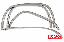 FTDO205 1994-2001 Dodge Ram w/o Side Moldings Stainless Fender Trim (Long Style)