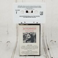 Jim Morrison An American Prayer Cassette 1978 Music by The Doors
