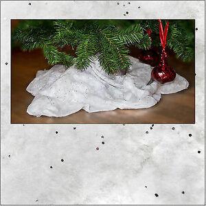 Kunstschneedecke weihnachtliche Dekoration,90x240 cm,Christbaumdecke Weihnachten