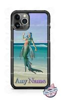 Mermaid found on the Beach Design Any Text Phone Case Cover for iPhone Samsung