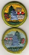Landscape Architecture Merit Badge, Type H, Blue Back Versions (1972 - 2002)