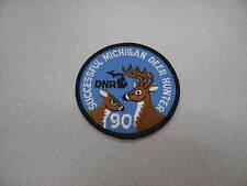 1990 MICHIGAN SUCCESSFUL DNR DEER HUNTING PATCH - BEAR - TURKEY - ELK