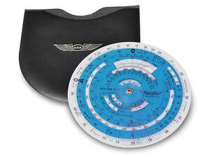 ASA E6-B Color Circular Flight Computer Essential For All Pilots ASA-E6B-CIRC