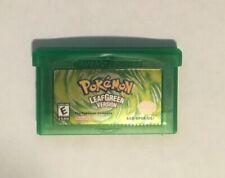 Pokemon Leaf Green Version GBA Gameboy Advance Reproduction Leaf Green