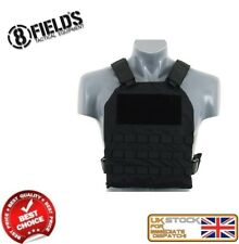 MILITARY ARMY TACTICAL VEST MOLLE PLATE CARRIER BLACK AIRSOFT M51611030-BK