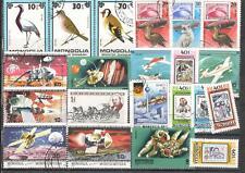 R9973 - MONGOLIA 1980 - LOTTO 21 DIFFERENTI DEL PERIODO - VEDI FOTO