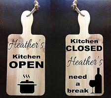 Personalized Kitchen Gift, Paddle, Kitchen Decor, Wall decor, Rustic Sign