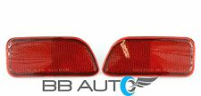 02-09 CHEVROLET TRAILBLAZER REAR BUMPER RED REFLECTOR MARKER LIGHT LENS SET NEW